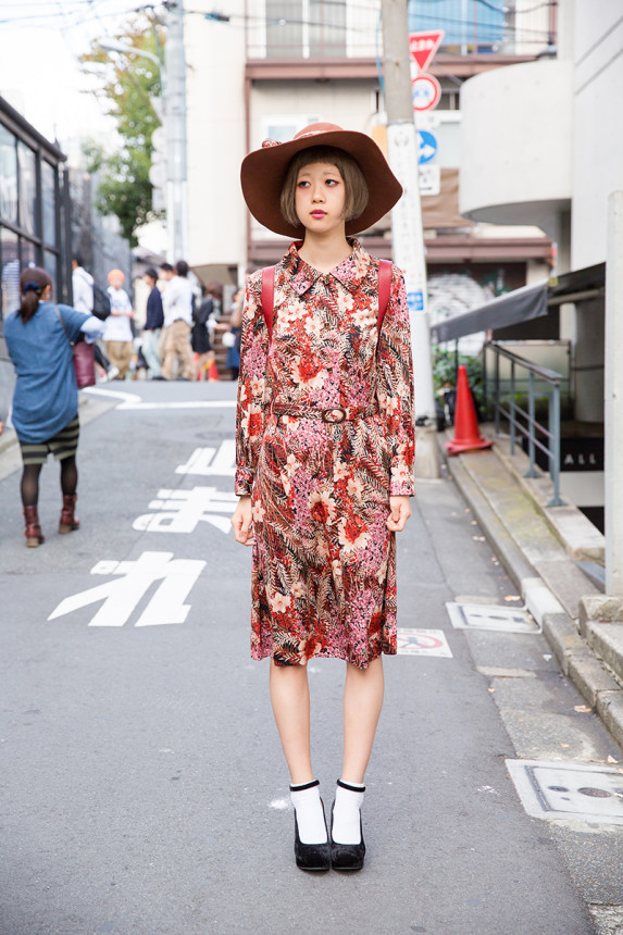 Кроткая юбка японки