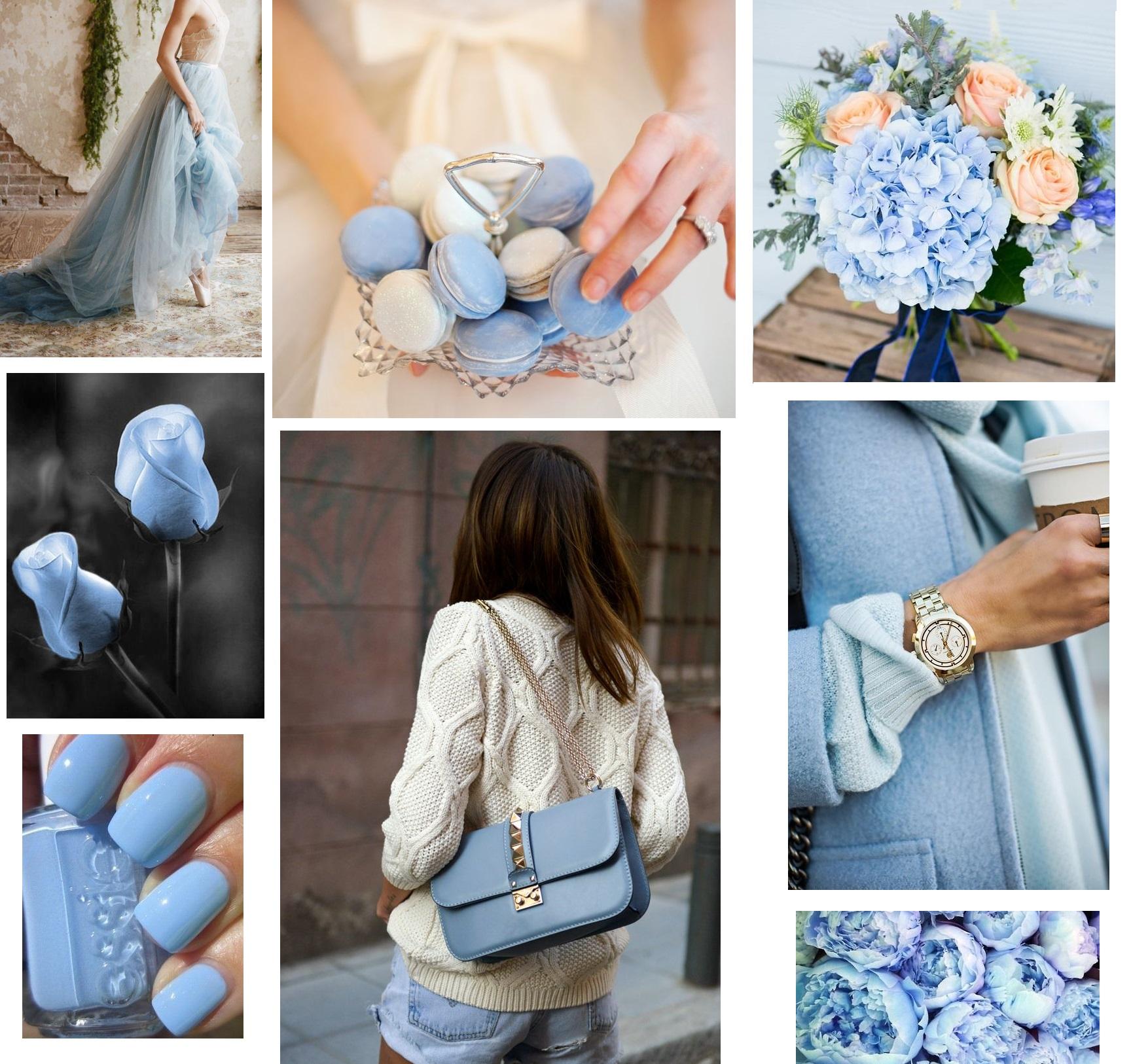 образы в голубом цвете