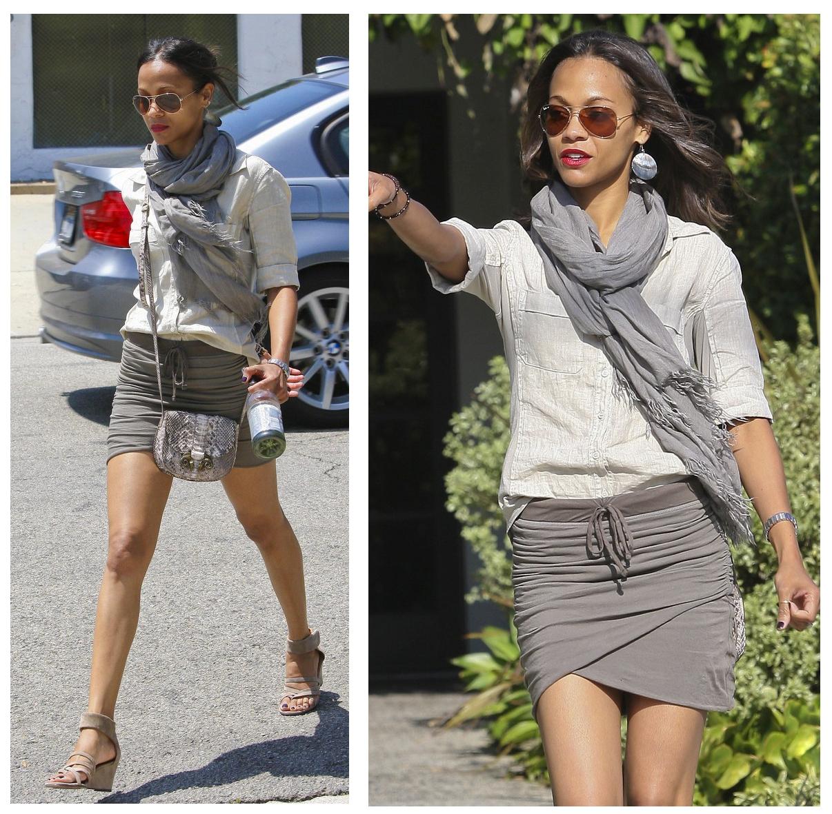 Zoe Saldana Style, Fashion Looks - StyleBistro 82