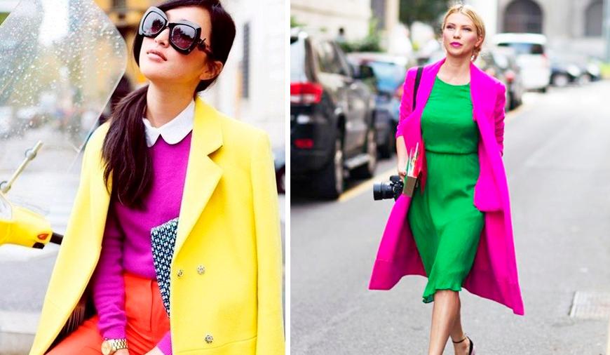 Как сочетать цвета в одежде  фото, правильное сочетание цветов в ... d858f171f12