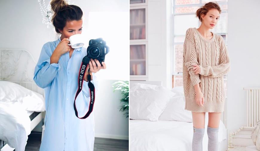 57db02e542a Как одеваться дома  как красиво и стильно одеться дома девушке и ...