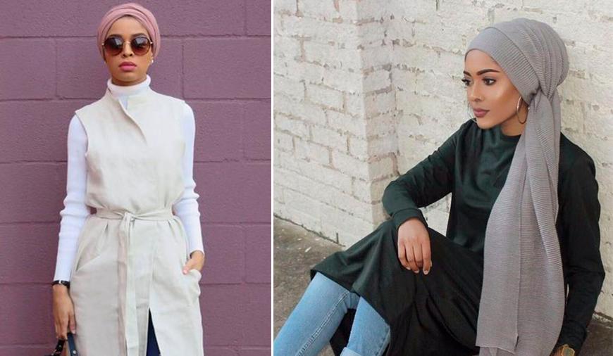 83395535803 Как стильно и модно носить хиджаб  Фото стильных мусульманок   Школа ...