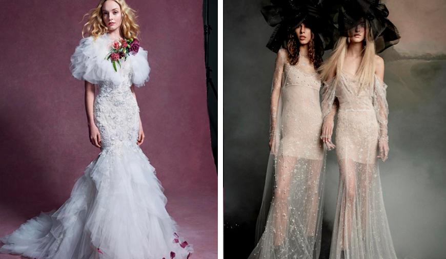 Модные тенденции свадебных платьев 2019-2020 года