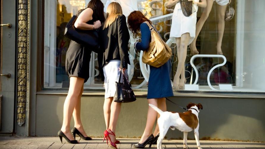 шоппинг в Европе