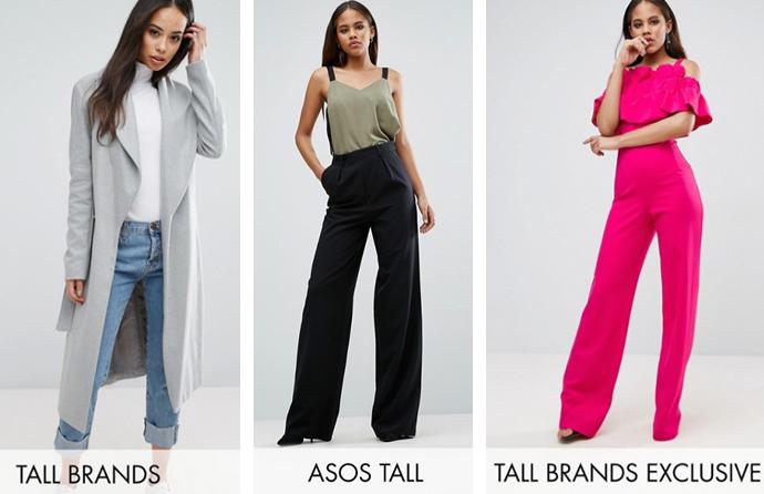 8222f8128f1 Одежда для высоких девушек и женщин  марки одежды