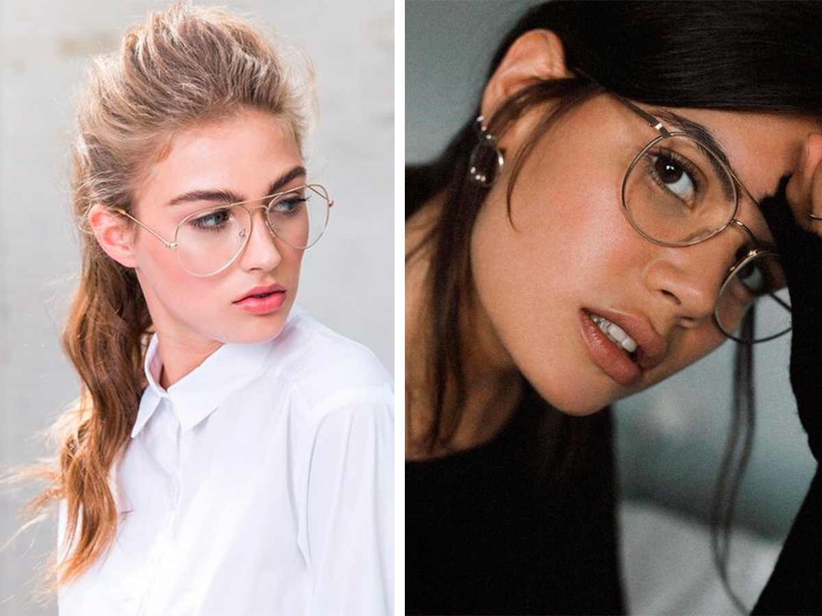 33f0341d304a Модные оправы 2018: подборка модных женских оправ для зрения, модные ...