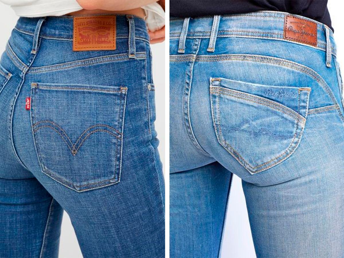 Светлые цвета джинсов фото