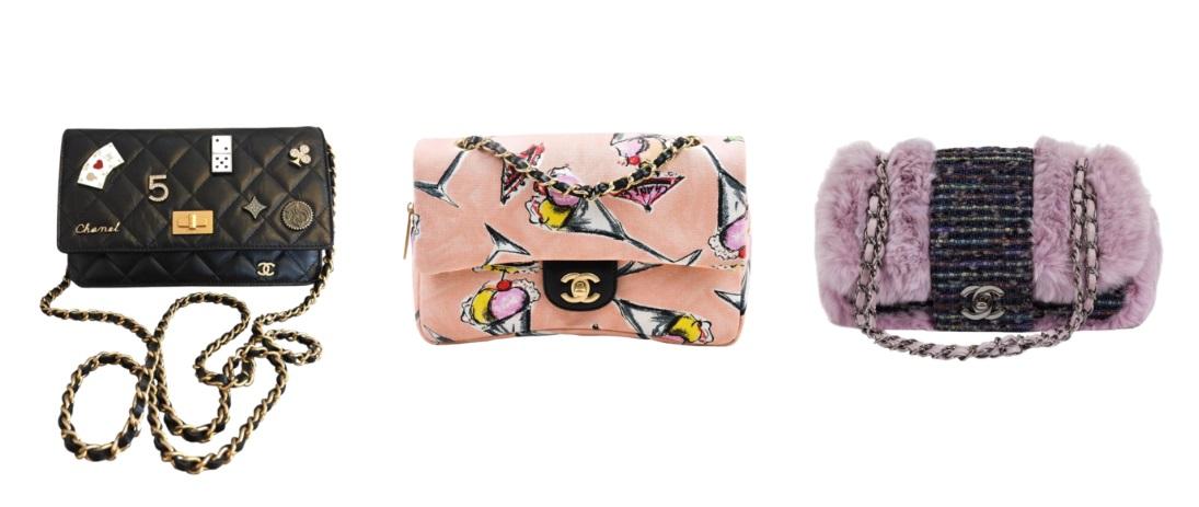 А какие сумки от Chanel его имеют  Вот эти. С явным отпечатком текущих  трендов в дизайне сумки. 4875633b45e
