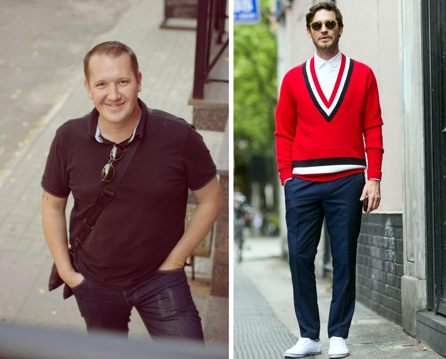 стильный мужской гардероб