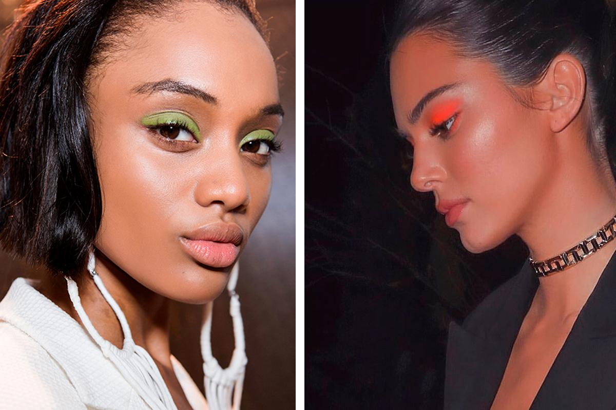 тренды макияжа 2020