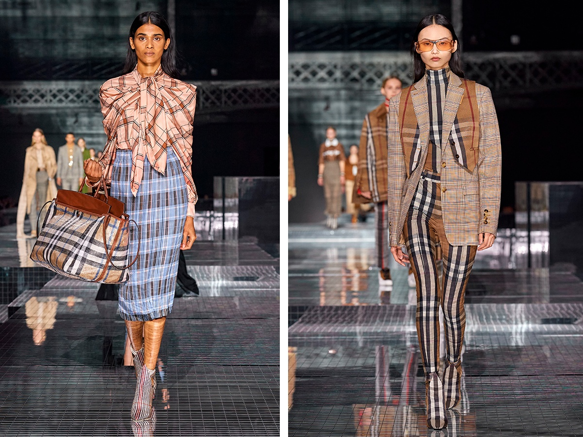 Nedelya mody London 2020 Burberry