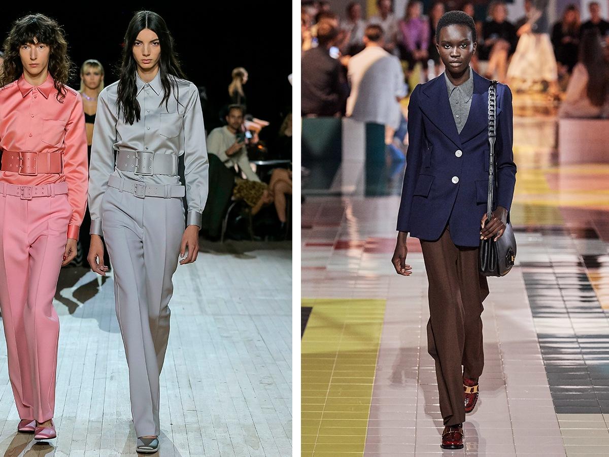 Классические брюки Marc Jacobs, Giorgio Armani.