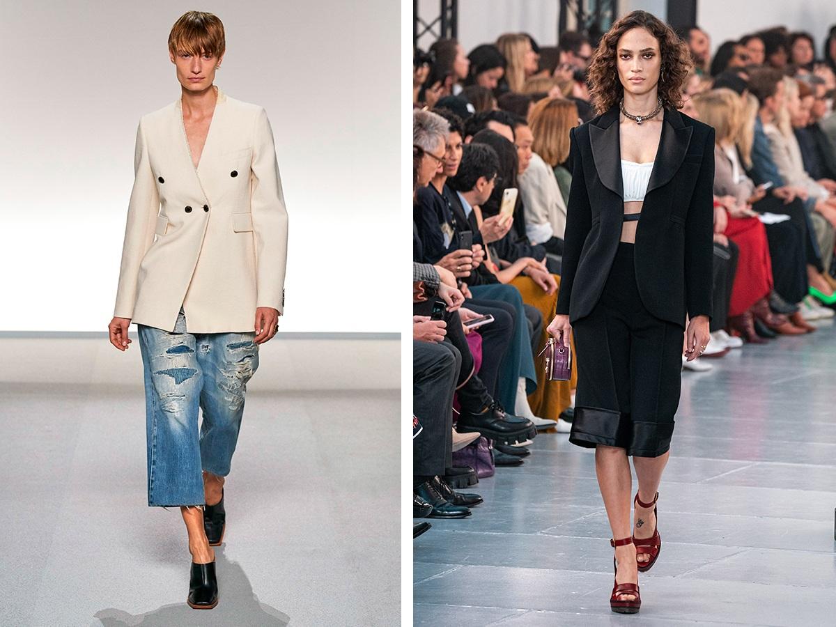 Короткие брюки Givenchy, Chloe.