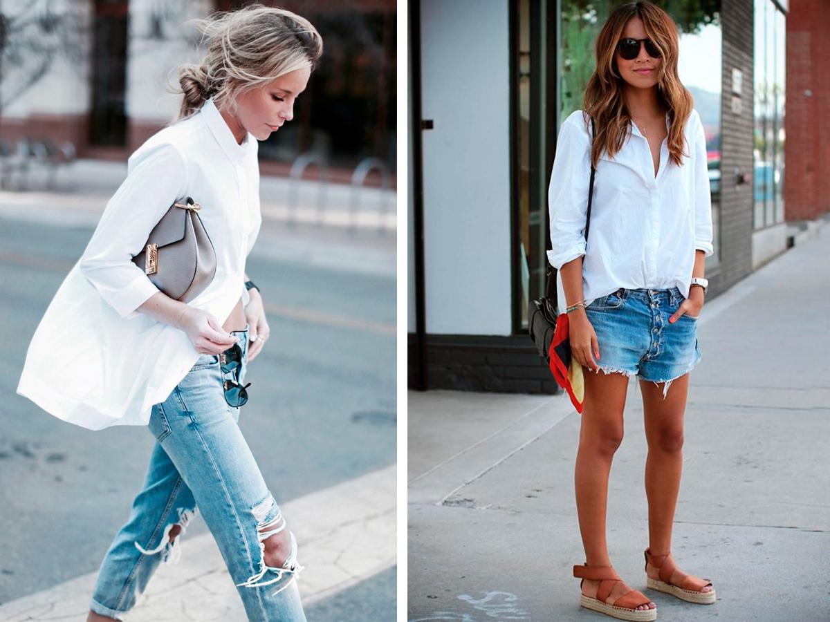 С чем носить белую блузку 10 стильных способов, с чем носить и сочетать белую рубашку в женском гардеробе