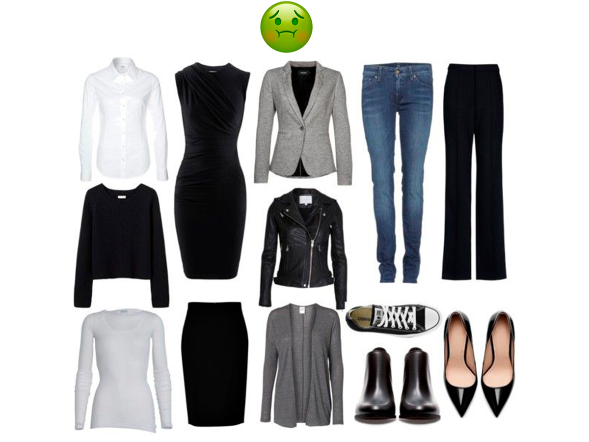 6bd92c660f17 Базовые вещи в гардеробе девушки: список из 10 базовых вещей ...